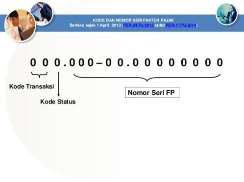 Membaca Dan Memahami Kode Dan Nomor Seri Faktur Pajak